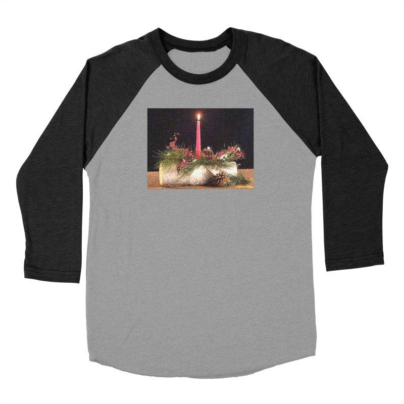 YuleLog Men's Baseball Triblend Longsleeve T-Shirt by The Ways of The Old's Artist Shop