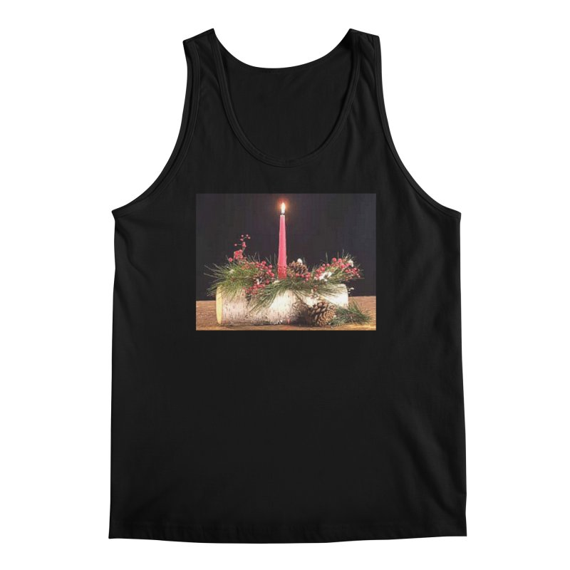 YuleLog Men's Regular Tank by The Ways of The Old's Artist Shop