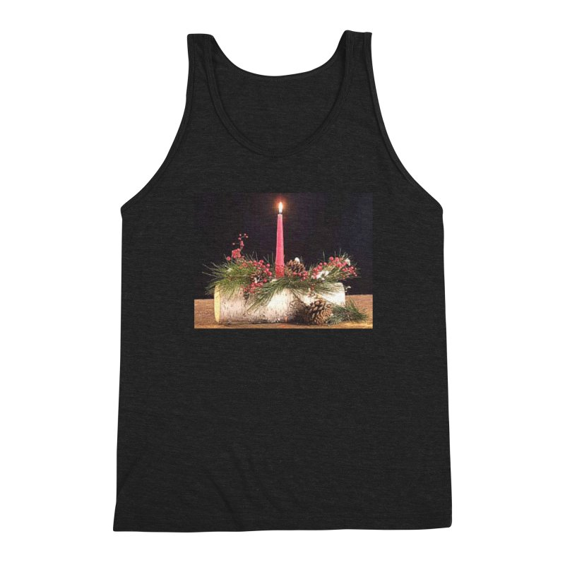 YuleLog Men's Triblend Tank by The Ways of The Old's Artist Shop