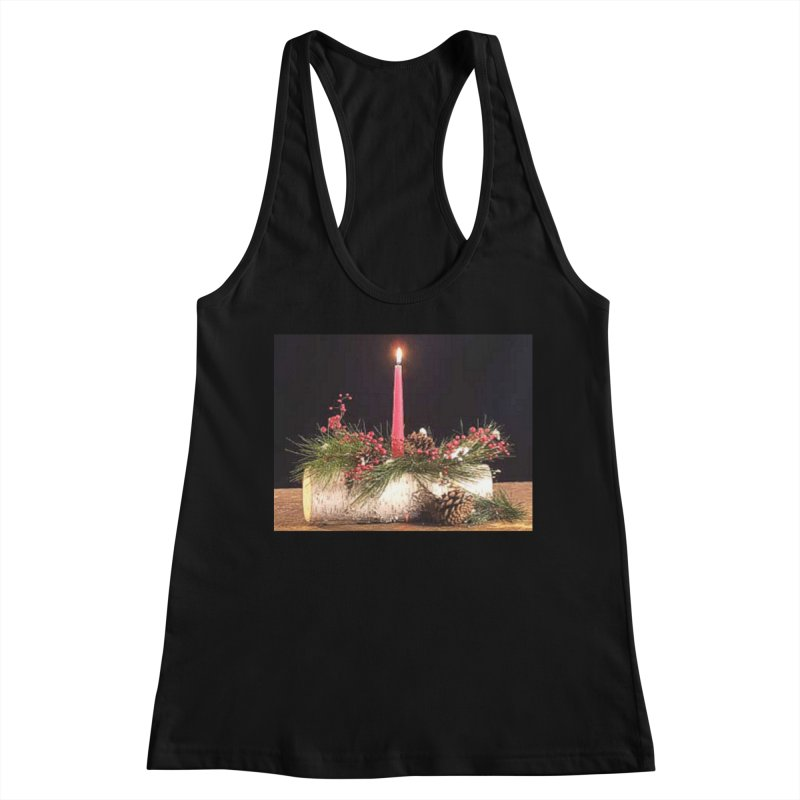 YuleLog Women's Racerback Tank by The Ways of The Old's Artist Shop