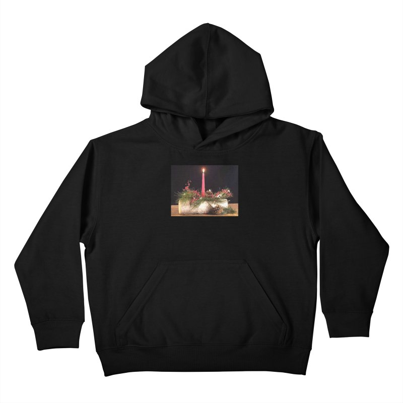 YuleLog Kids Pullover Hoody by The Ways of The Old's Artist Shop