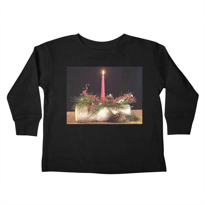 YuleLog Kids Toddler Longsleeve T-Shirt by The Ways of The Old's Artist Shop