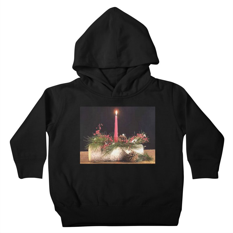 YuleLog Kids Toddler Pullover Hoody by The Ways of The Old's Artist Shop