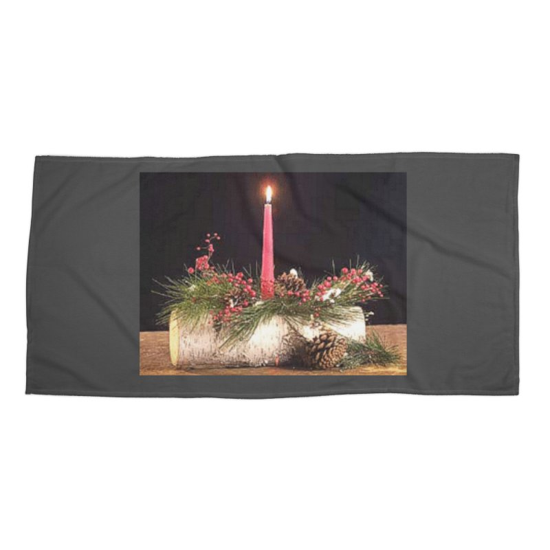 YuleLog Accessories Beach Towel by The Ways of The Old's Artist Shop