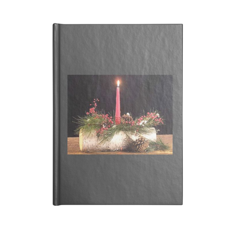 YuleLog Accessories Blank Journal Notebook by The Ways of The Old's Artist Shop