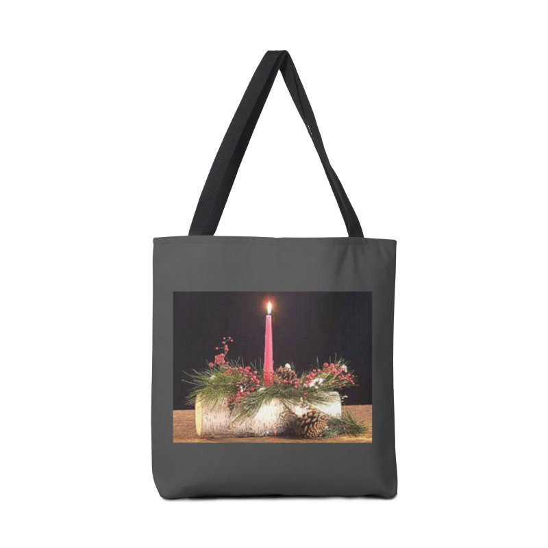 YuleLog Accessories Tote Bag Bag by The Ways of The Old's Artist Shop