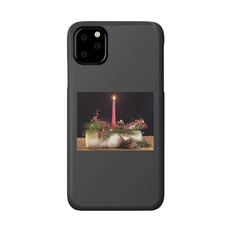 YuleLog Accessories Phone Case by The Ways of The Old's Artist Shop