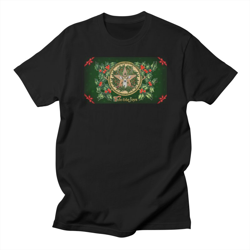 Yule-Tide Joys Men's T-Shirt by The Ways of The Old's Artist Shop