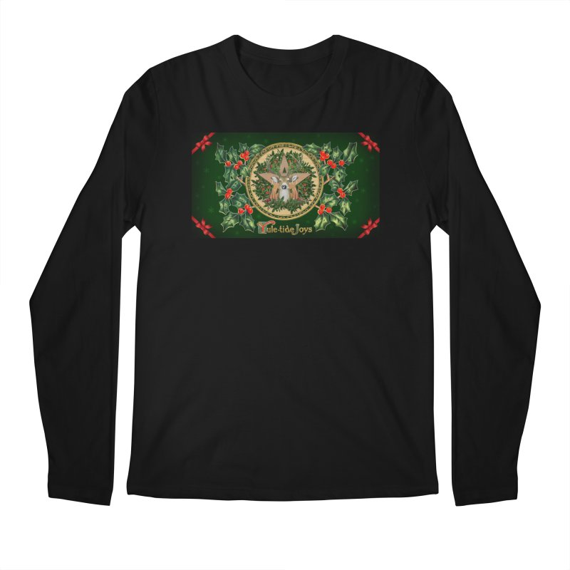 Yule-Tide Joys Men's Regular Longsleeve T-Shirt by The Ways of The Old's Artist Shop