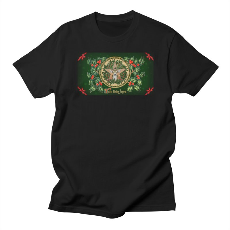 Yule-Tide Joys Women's Regular Unisex T-Shirt by The Ways of The Old's Artist Shop