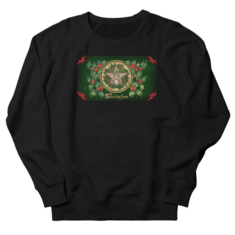 Yule-Tide Joys Women's French Terry Sweatshirt by The Ways of The Old's Artist Shop