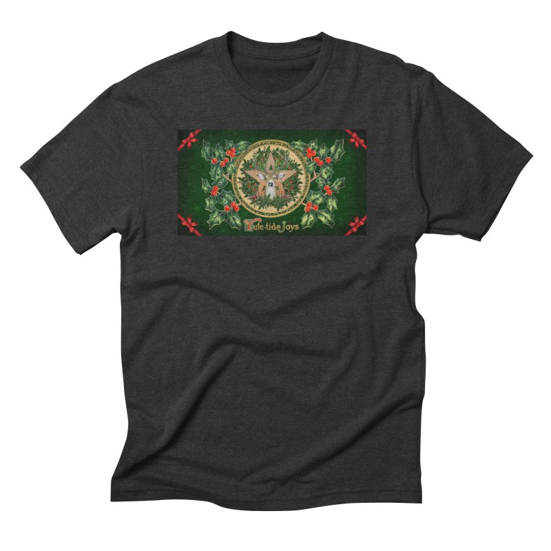 Yule-Tide Joys Men's Triblend T-Shirt by The Ways of The Old's Artist Shop