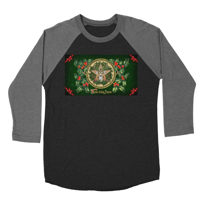 Yule-Tide Joys Women's Baseball Triblend Longsleeve T-Shirt by The Ways of The Old's Artist Shop