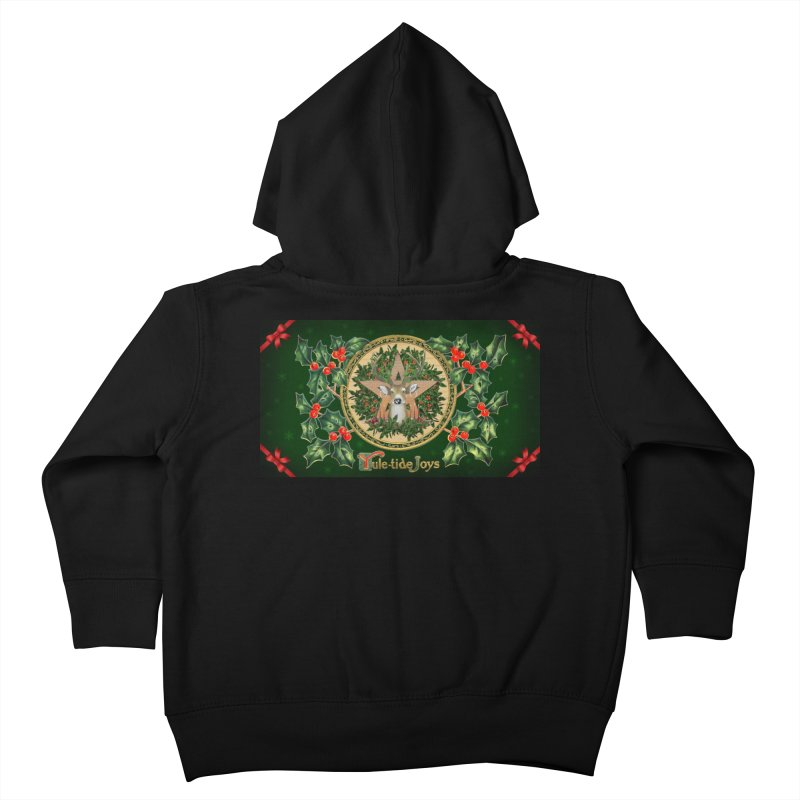 Yule-Tide Joys Kids Toddler Zip-Up Hoody by The Ways of The Old's Artist Shop
