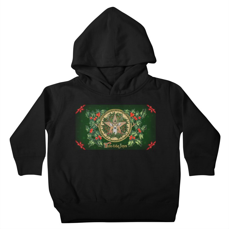 Yule-Tide Joys Kids Toddler Pullover Hoody by The Ways of The Old's Artist Shop