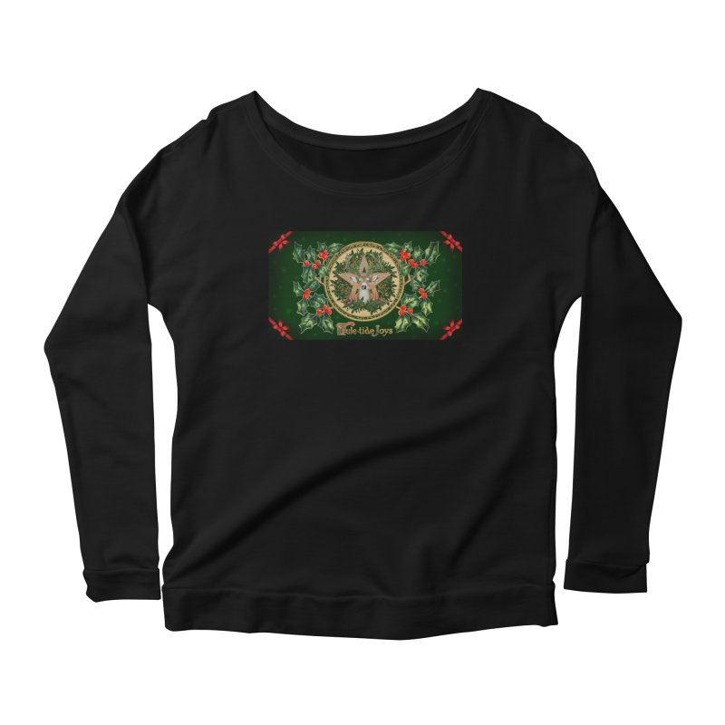 Yule-Tide Joys Women's Scoop Neck Longsleeve T-Shirt by The Ways of The Old's Artist Shop