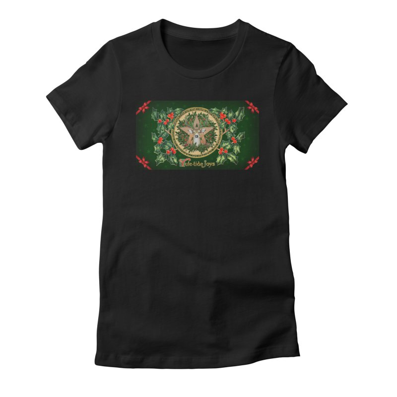 Yule-Tide Joys Women's T-Shirt by The Ways of The Old's Artist Shop