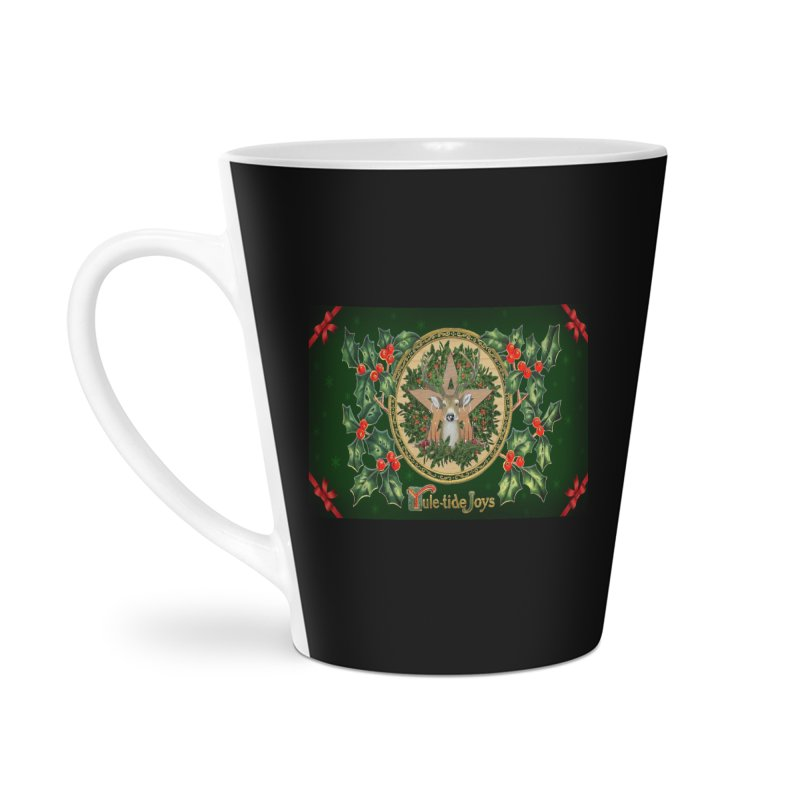 Yule-Tide Joys Accessories Latte Mug by The Ways of The Old's Artist Shop