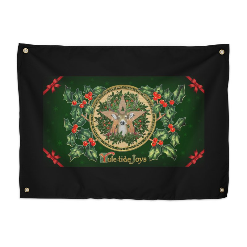 Yule-Tide Joys Home Tapestry by The Ways of The Old's Artist Shop