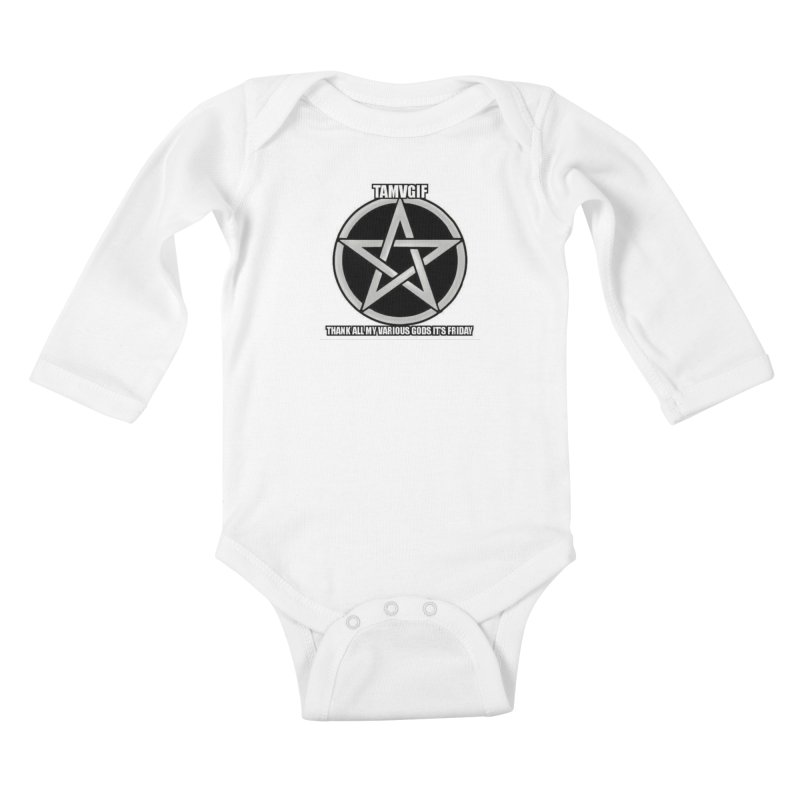 tamvgit Kids Baby Longsleeve Bodysuit by The Ways of The Old's Artist Shop