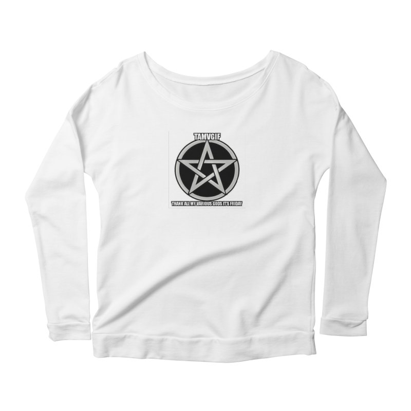tamvgit Women's Scoop Neck Longsleeve T-Shirt by The Ways of The Old's Artist Shop