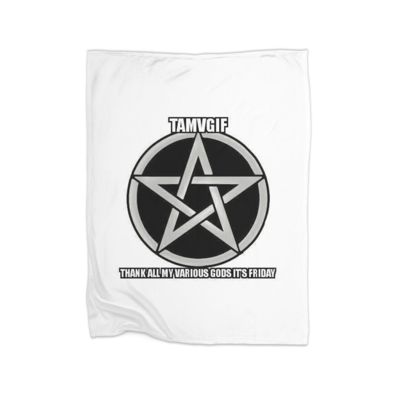 tamvgit Home Fleece Blanket Blanket by The Ways of The Old's Artist Shop