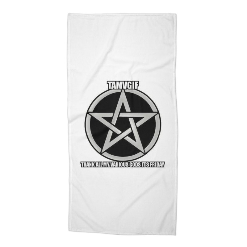 tamvgit Accessories Beach Towel by The Ways of The Old's Artist Shop