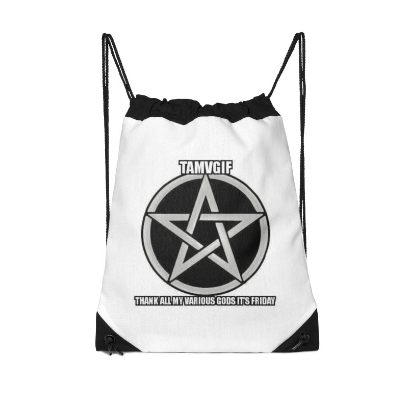 tamvgit Accessories Drawstring Bag Bag by The Ways of The Old's Artist Shop