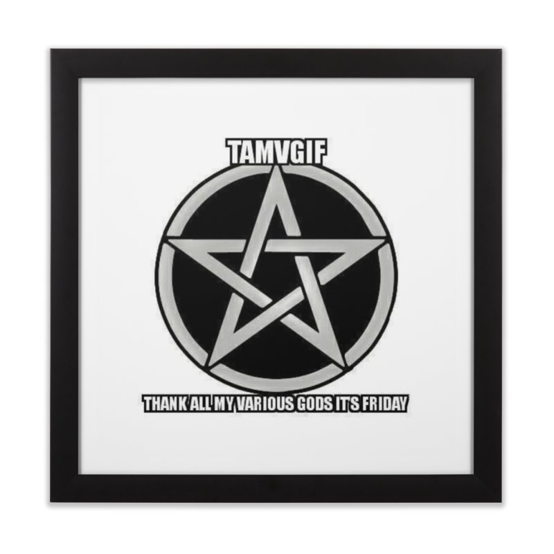 tamvgit Home Framed Fine Art Print by The Ways of The Old's Artist Shop