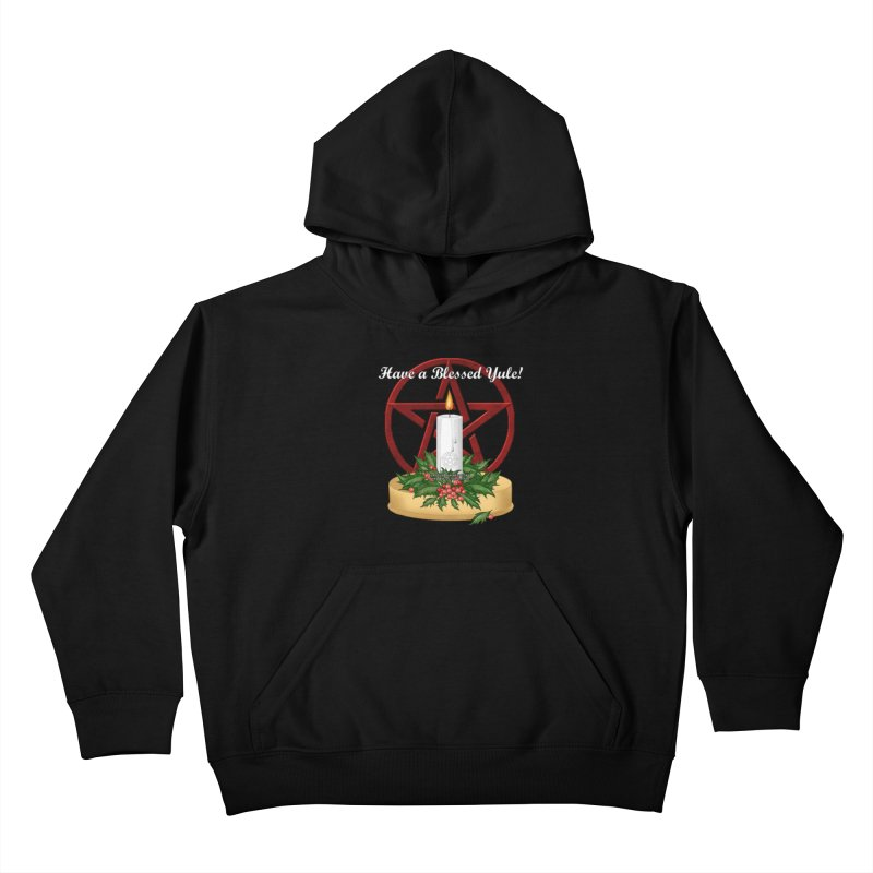 HaveABlessedYule Kids Pullover Hoody by The Ways of The Old's Artist Shop