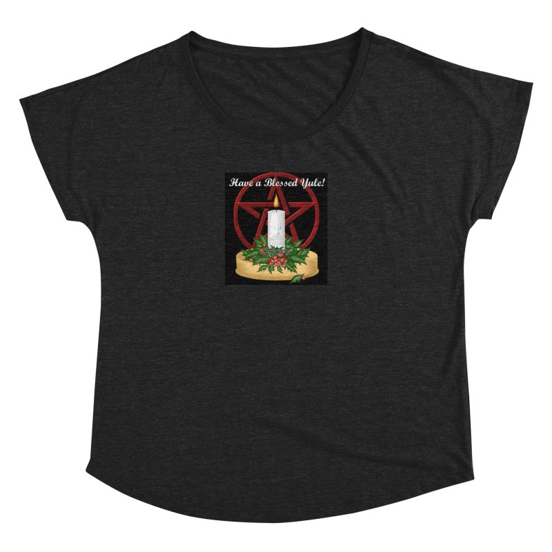 HaveABlessedYule Women's Dolman Scoop Neck by The Ways of The Old's Artist Shop