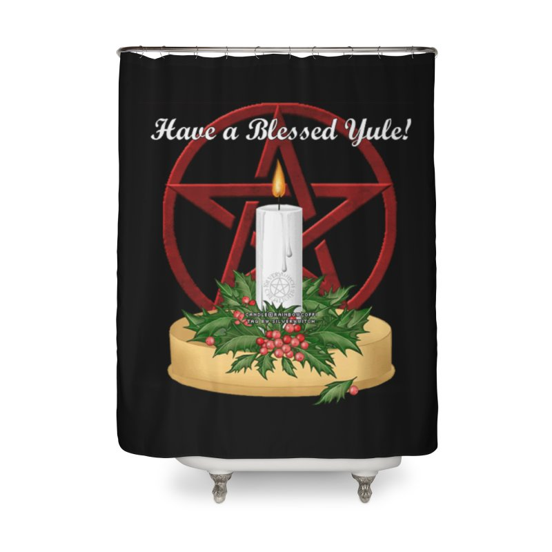 HaveABlessedYule Home Shower Curtain by The Ways of The Old's Artist Shop