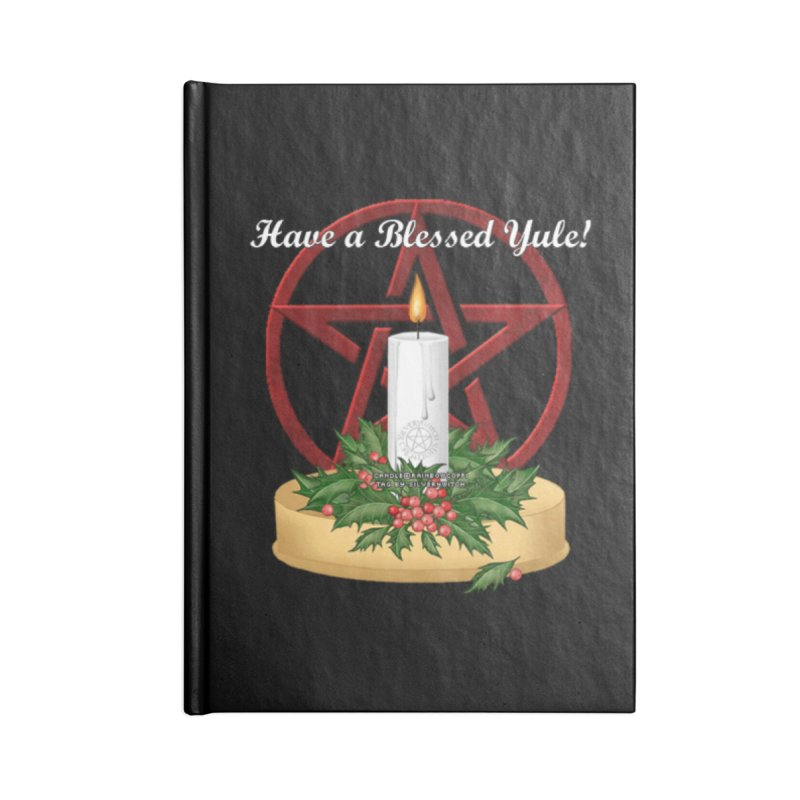 HaveABlessedYule Accessories Blank Journal Notebook by The Ways of The Old's Artist Shop