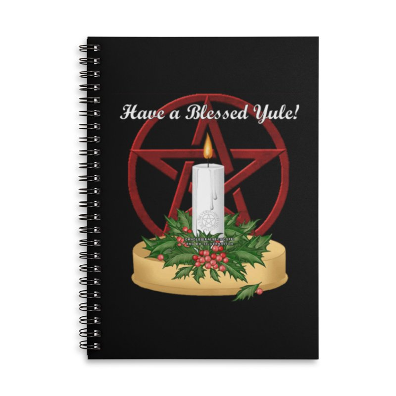 HaveABlessedYule Accessories Lined Spiral Notebook by The Ways of The Old's Artist Shop