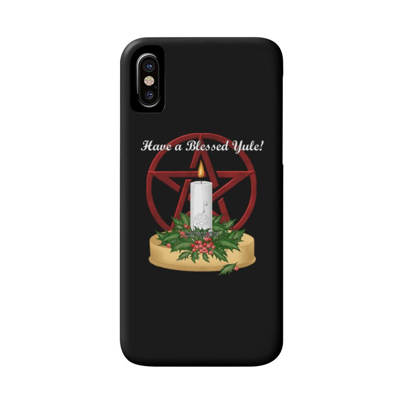 HaveABlessedYule Accessories Phone Case by The Ways of The Old's Artist Shop