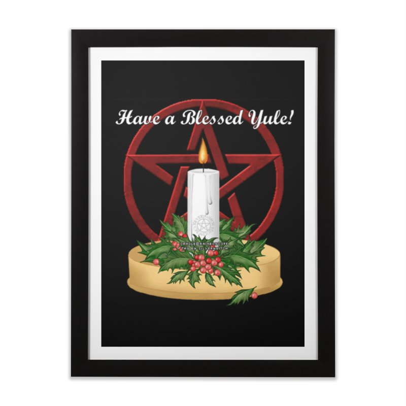 HaveABlessedYule Home Framed Fine Art Print by The Ways of The Old's Artist Shop