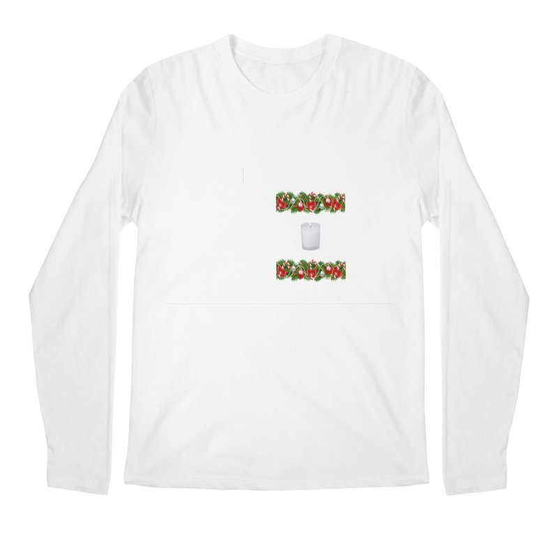 whitecandlegarland Men's Regular Longsleeve T-Shirt by The Ways of The Old's Artist Shop