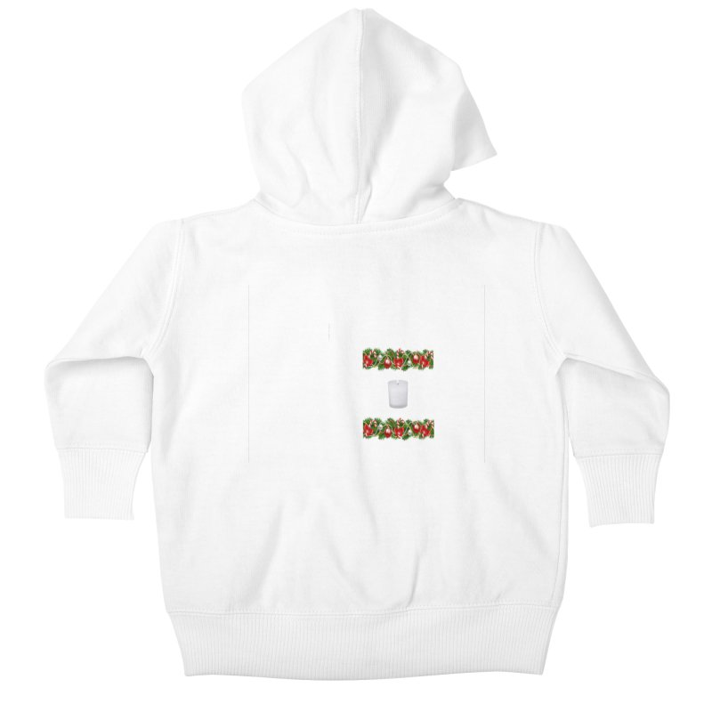 whitecandlegarland Kids Baby Zip-Up Hoody by The Ways of The Old's Artist Shop