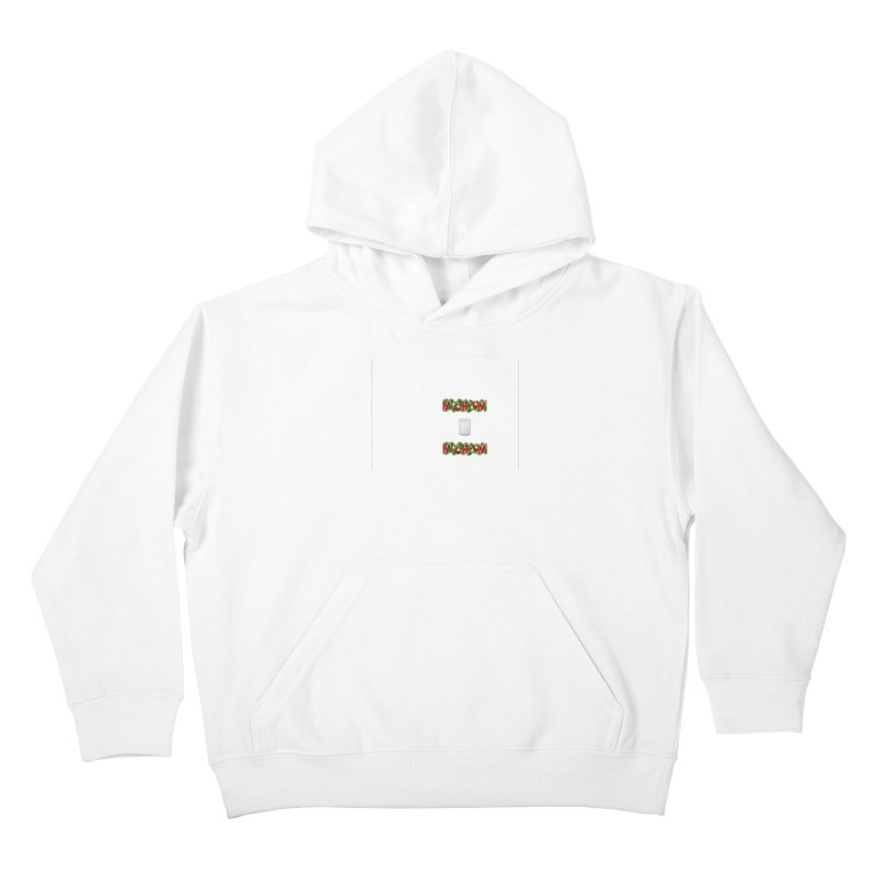 whitecandlegarland Kids Pullover Hoody by The Ways of The Old's Artist Shop