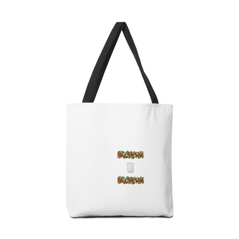 whitecandlegarland Accessories Tote Bag Bag by The Ways of The Old's Artist Shop