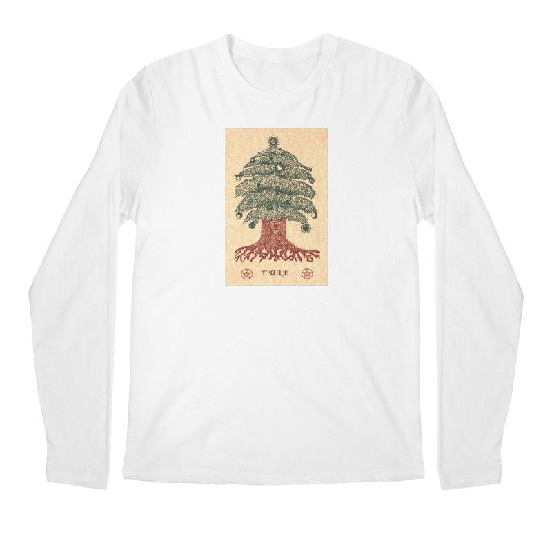 Yule Tree Men's Regular Longsleeve T-Shirt by The Ways of The Old's Artist Shop