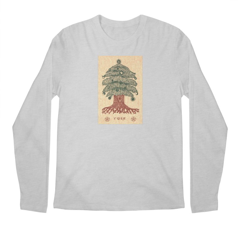 Yule Tree Men's Regular Longsleeve T-Shirt by The Ways of The Old's Artist Shop