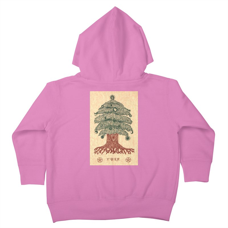 Yule Tree Kids Toddler Zip-Up Hoody by The Ways of The Old's Artist Shop