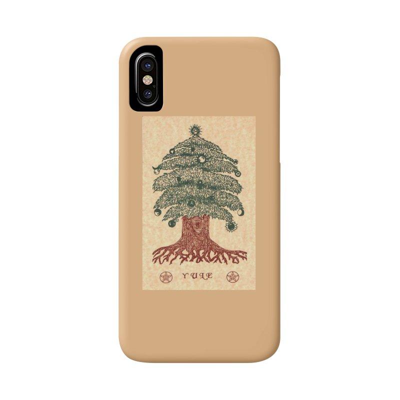 Yule Tree Accessories Phone Case by The Ways of The Old's Artist Shop