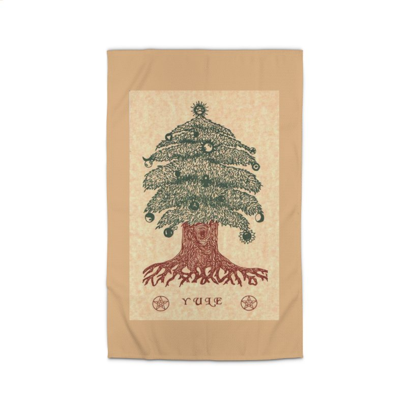 Yule Tree Home Rug by The Ways of The Old's Artist Shop