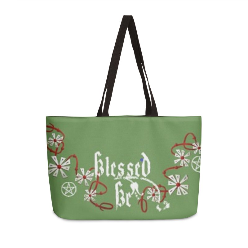 Blessed Be Accessories Weekender Bag Bag by The Ways of The Old's Artist Shop