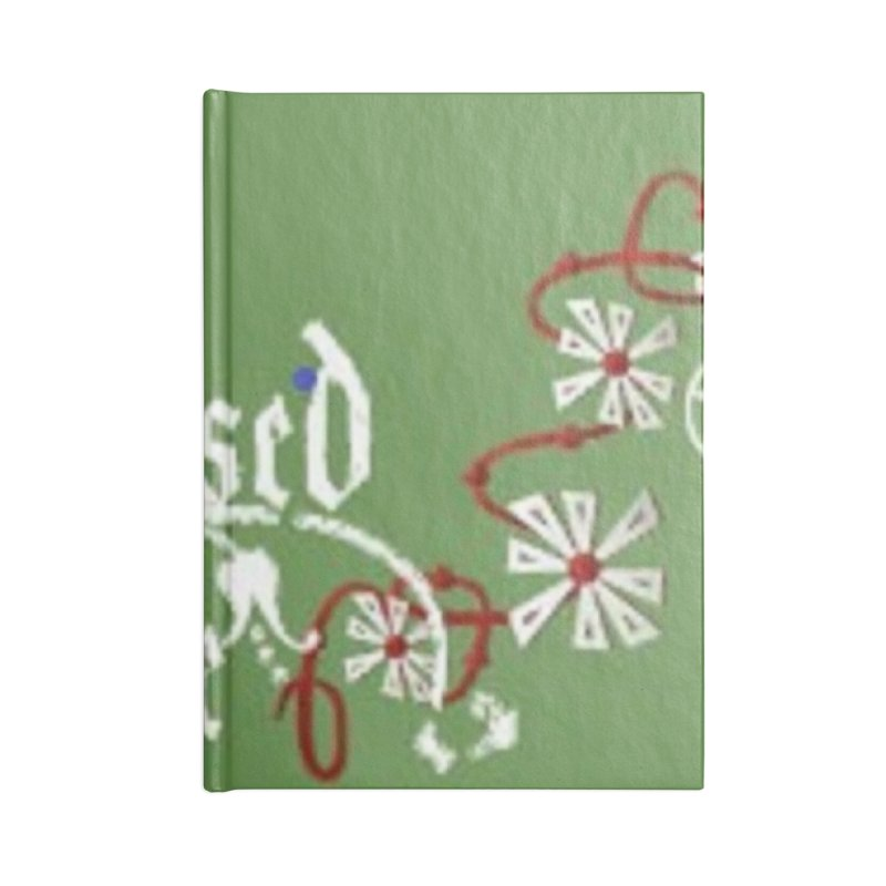 Blessed Be Accessories Lined Journal Notebook by The Ways of The Old's Artist Shop