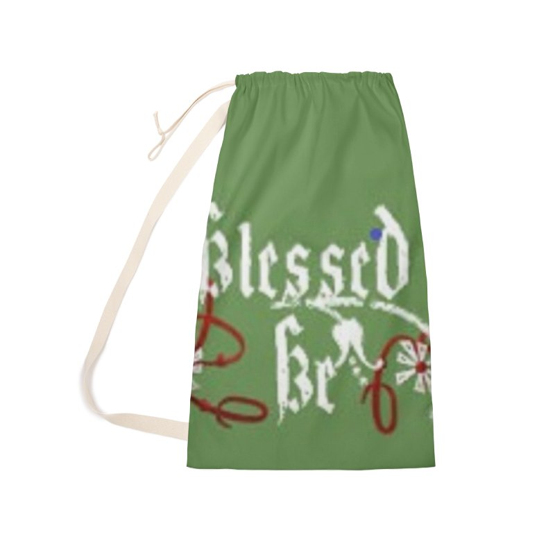 Blessed Be Accessories Laundry Bag Bag by The Ways of The Old's Artist Shop