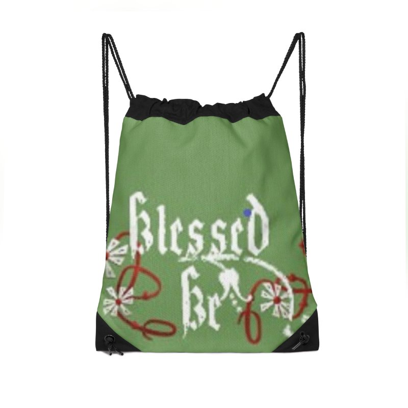 Blessed Be Accessories Drawstring Bag Bag by The Ways of The Old's Artist Shop