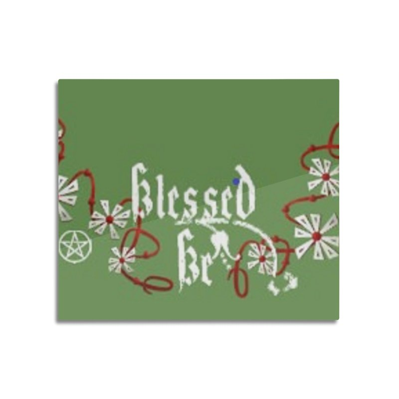 Blessed Be Home Mounted Acrylic Print by The Ways of The Old's Artist Shop